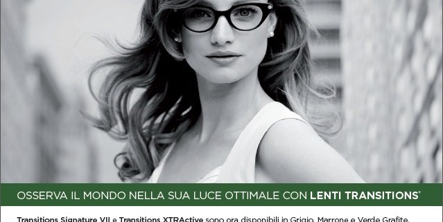 lenti essilor transition green ferrara