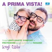 PROMO Essilor lenti oftalmiche per kids junior bambini ragazzi